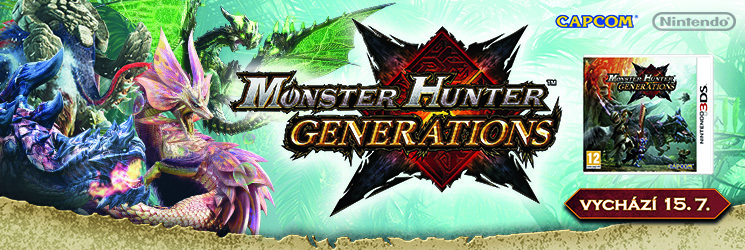 Monster Hunter Generations - CZ