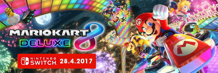 Mario Kart 8 Deluxe Switch - CZ