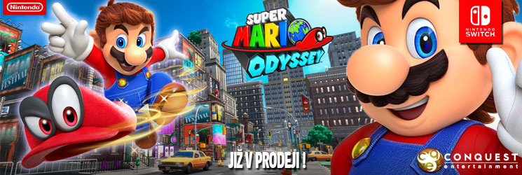 Super Mario Odyssey CZ