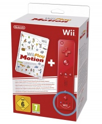 Wii Remote Plus Red + Wii Play: Motion