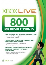 X360 Live Points 800 Xbox360