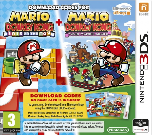 Mario and Donkey Kong: Minis Collection