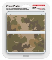 New 3DS Cover Plate 17 (Camouflage)