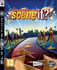 PS3 Scene It Bright Lights Big Screen