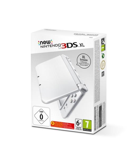 New Nintendo XL Pearl White