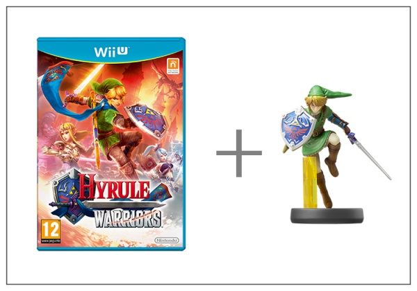 Hyrule Warriors + amiibo Smash Link 5