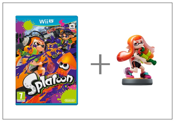 Splatoon + amiibo Splatoon Girl