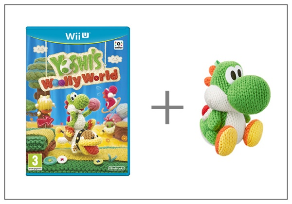 Yoshi's Woolly World + Yarn Yoshi Green