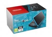 New Nintendo 2DS XL Black & Turquoise