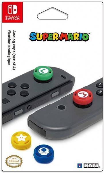 Joy-Con Analog Stick Caps – Super Mario