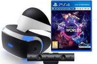 PlayStation VR + Cam + VR Worlds