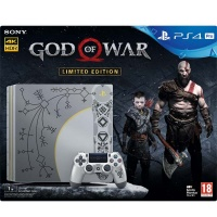 PS4 Pro Konzole 1TB + God of War LE