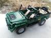 Vojenské auto Fleg na dálkové ovládání