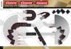 EVO/D132/D124 - 20588 Krajnice pro rovinku 1/3 4ks
