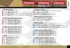 EVO/D132/D124 - 20589 Krajnice pro rovinku 1/4 4ks