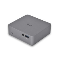 i-tec USB-C Metal 4K Docking Station + PD