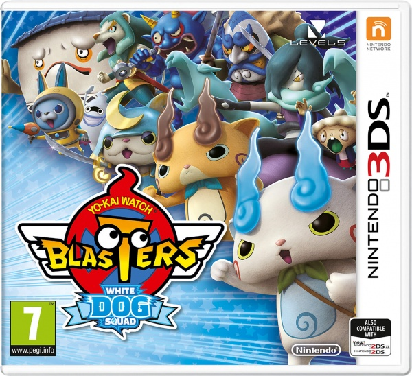 YO-KAI WATCH Blasters White Dog