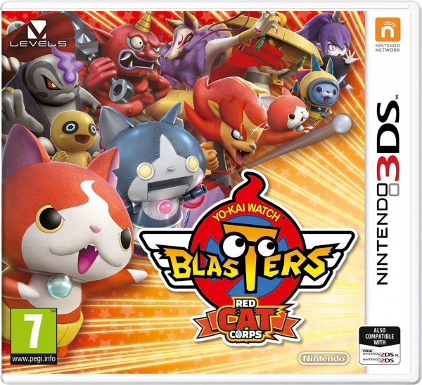 YO-KAI WATCH Blasters Red Cat