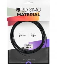 3DSimo Filament NYLON - černá 15m