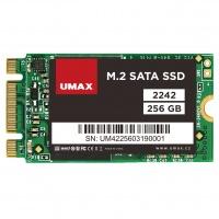 Umax M.2 SATA SSD 2242 256GB
