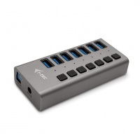 i-tec USB 3.0 Charging HUB 7-Port + Adapter 36W