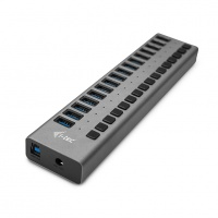 i-tec USB 3.0 Charging HUB 16-Port + Adapter 90W
