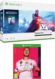 XONE S 1TB + Battlefield V + FIFA 20