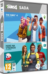 PC The Sims 4 Bundle Základní hra+Hurá na vysokou