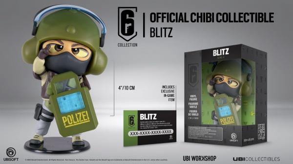 Rainbow Six Siege Chibi Figurine – Blitz
