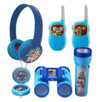 Set Tlapková patrola - vysílačky,sluchátka,baterka
