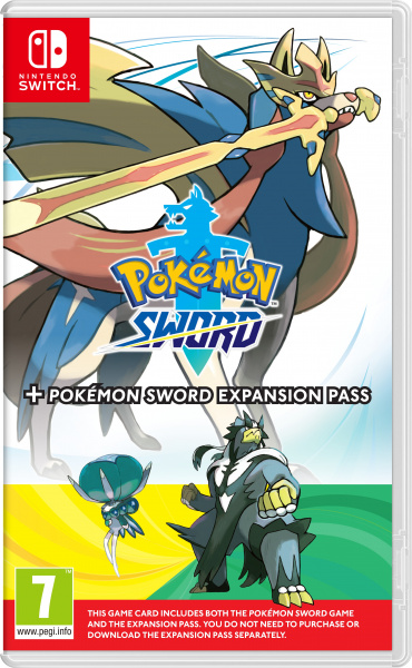 SWITCH Pokémon Sword + Expansion Pass