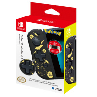 D-Pad Controller for Switch Pikachu Black Gold ed.