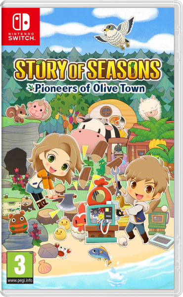 SWITCH Story of Seasons: Pioneers of Olive Town