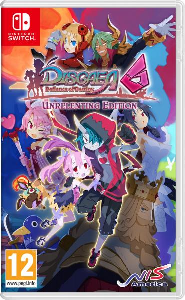 SWITCH Disgaea 6: Defiance of Destiny – Unrel. Ed.