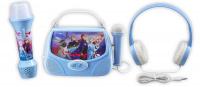 Set Frozen II - sluchátka, svítilna, karaoke box