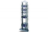 300756 Tower, 50CD stojan, stříbrná