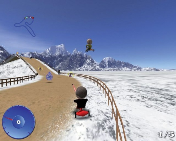 PC Tricycle racers
