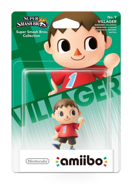 amiibo Smash Villager 9