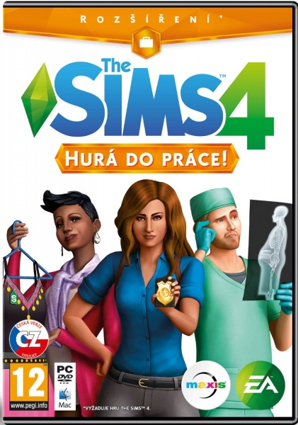 PC The Sims 4 - Hurá do práce