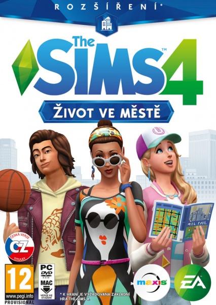 PC The Sims 4 - Život ve městě