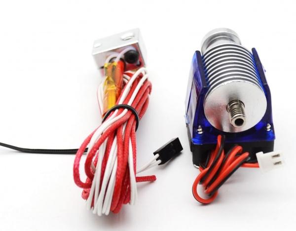 Hotend E3D V6,12V,1.75mm fil./0.4mm tryska,vetrak