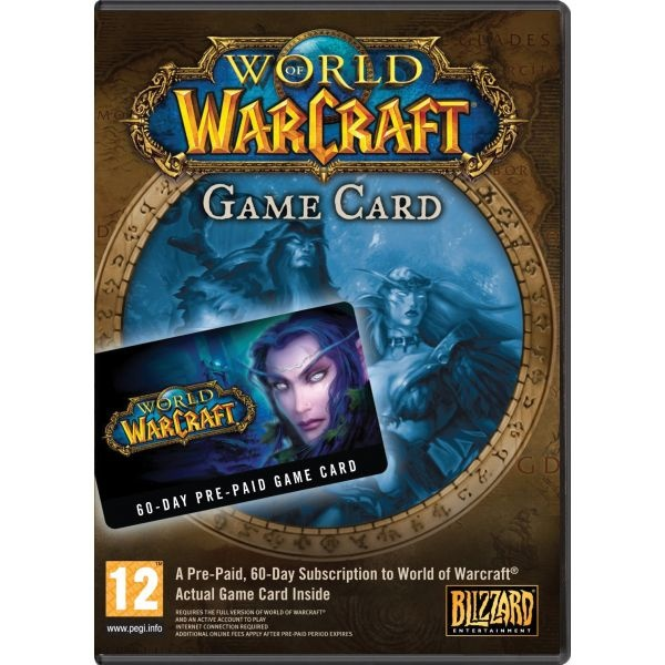 PC World of Warcraft: Prepaid Card 60 Days EU