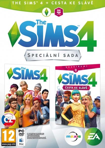 PC The Sims 4 Bundle Základní hra + Cesta ke slávě