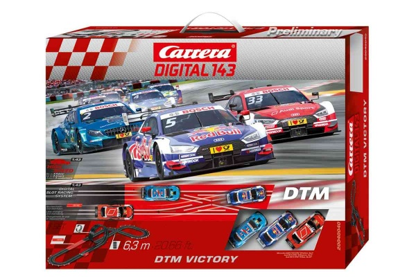Autodráha Carrera D143 40040 DTM Victory