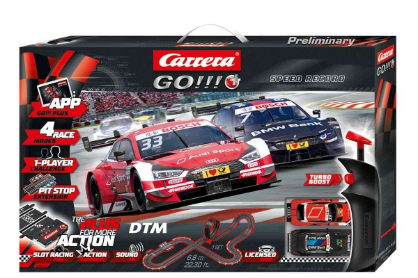 Autodráha Carrera GOPlus 66009 DTM Speed Record