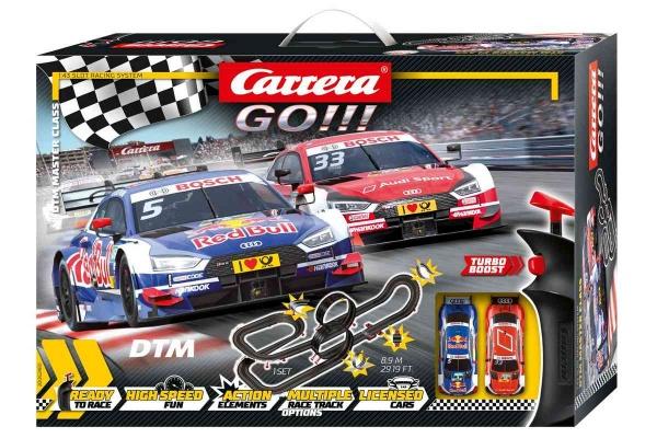 Autodráha Carrera GO 62480 DTM Master Class