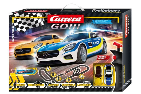 Autodráha Carrera GO 62494 Super Pursuit