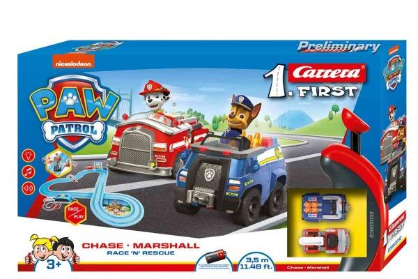 Autodráha Carrera FIRST - 63032 Tlapková patrola