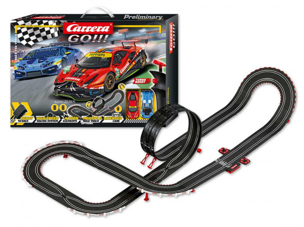 Autodráha Carrera GO 62526 Race the Track