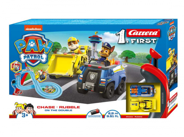 Autodráha Carrera FIRST - 63035 Tlapková patrola